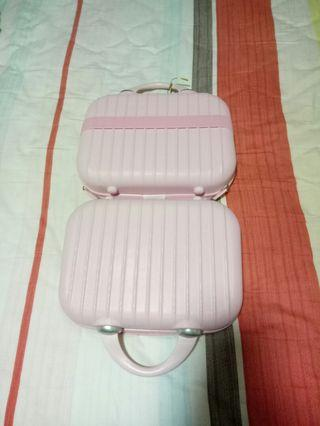 Mini kids Luggage/makeup bag - Pink