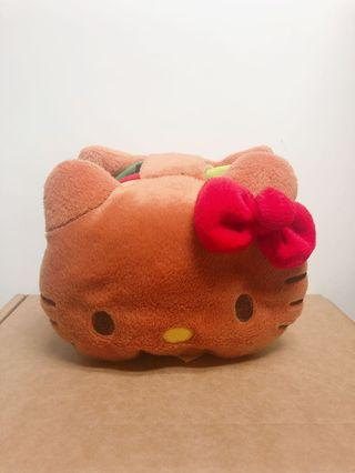 Hello Kitty 漢堡包造型公仔,玩具盒