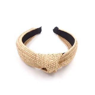 🚚 藤編紐結髮箍