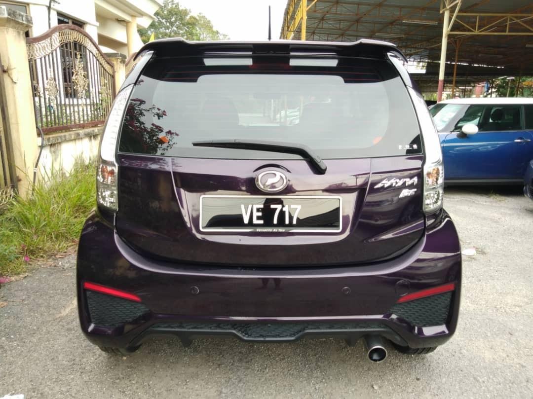 2016 Perodua MYVI 1.5 SE FACELIFT (A) FULL SERVICE RECORD