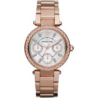 NEW Michael Kors MK5616 Women's Parker Multi-Function Rose Gold-tone Ladies Watch
