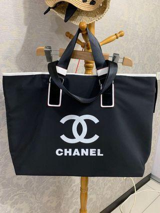 全新超美翻玩小香防潑水大購物包/旅行袋
