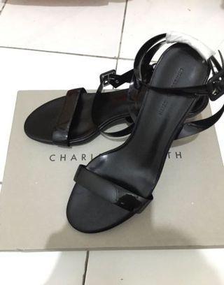 Transparant Heels Charles And Keith Original