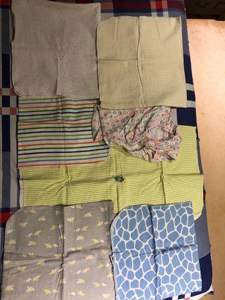🚚 NB/Baby swaddles, clothes, manual breast pump, nursing cover