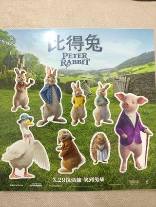 Peter Rabbit 比得兔貼紙