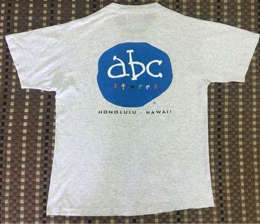 Vintage Tshirt ABC HAWAII