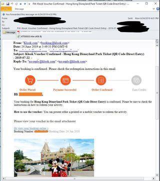 Hong Kong Disneyland park tickets (2)
