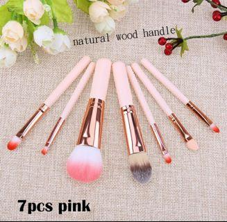 7pcs Makeup brushes (free normal mail)
