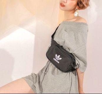 🚚 (全新)ADIDAS ESSENTIAL CBODY BAG BLACK 腰包