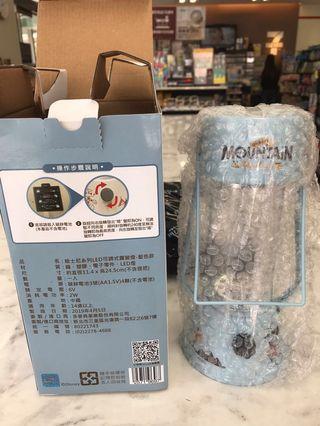 🚚 7-11迪士尼限量復古造型露營燈(藍色)免運