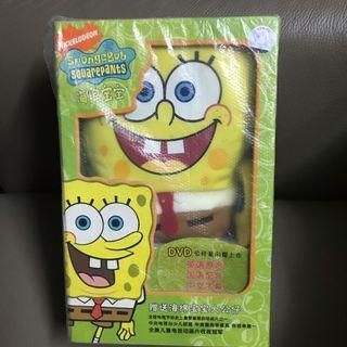 海綿寶寶 公仔 DVD Spongebob