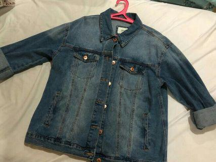 Jacket Jeans forever21 NEW