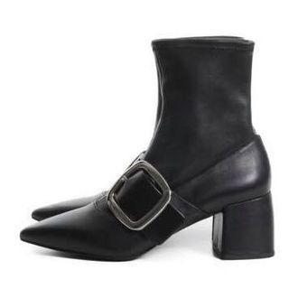 SENSO Black Silver Buckle Boots