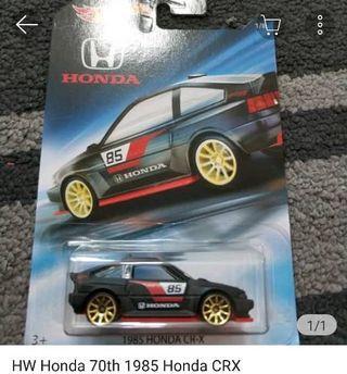 Hotwheels HONDA CRX 1985