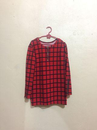 Checkered Blouse Ref