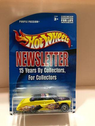 Hot wheels Newsletter Passion