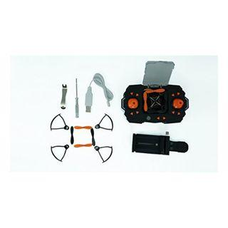 2C 740 Heliway 901HS Mini Foldable Pocket Drone Quadcopter WiFi, Live HD Camera, 2.4GHz 6CH 6-axis Gyro, Altitude Hold-Orange