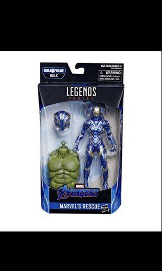 現貨全新 Hasbro Marvel Legends Rescue 連 BAF