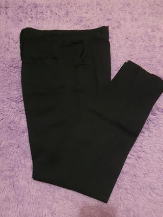 Celana / basic pants panjang hitam
