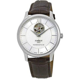 Tissot Tradition Powermatic 80 Brown Leather Watch T063.907.16.038.00