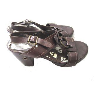 US Leather Heels