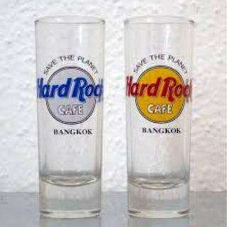 Hard Rock Shot Glasses  - Planet Hollywood