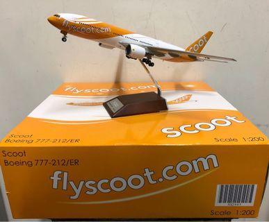 飛機模型 - Scoot 酷航 1:200 B777-200ER