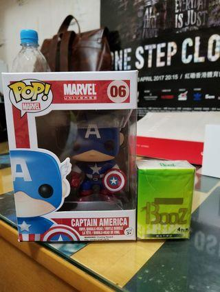 Pop toys captain america美國隊長