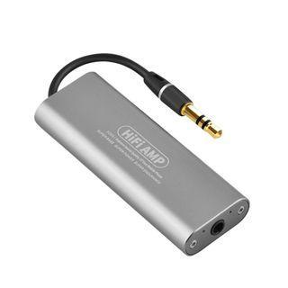 2B 720 (Brand New) Mini HIFI Amplifier, SD05 HIFI Stereo Headphone Amplifier AMP 3.5mm AUX Digital Audio Player for Smartphone
