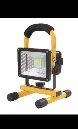 24 LEDs 30W 2400 Lumens Rechargeable LED Flood Light Square Indoor Outdoor IP65 [W804]