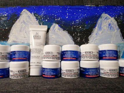 Clearance sales for KIEHL'S Facial cream & cleanser