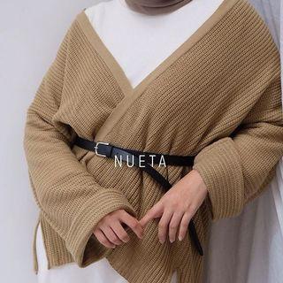 Cardigan knitwear rajut