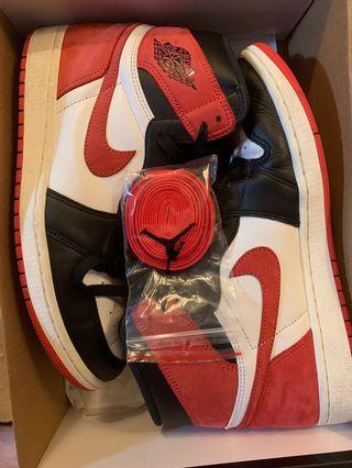 Jordan 1 Gym Red size 10 US