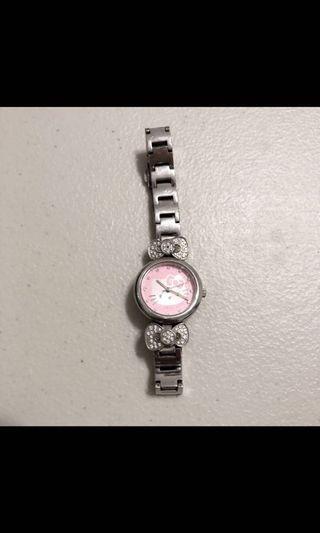 Hello Kitty 水鑽手錶