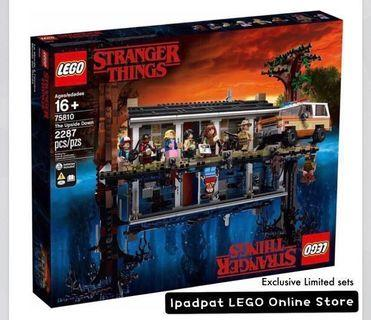 🚚 Closed [PO] Batch 1 - Set 75810 (Exclusive Limited) Stranger Things LEGO Set
