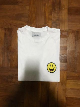 smiley face t shirt