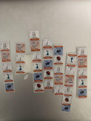 包郵費 萬寧印花 萬寧貼紙 manning stamps 38個 可散買但需另加郵費