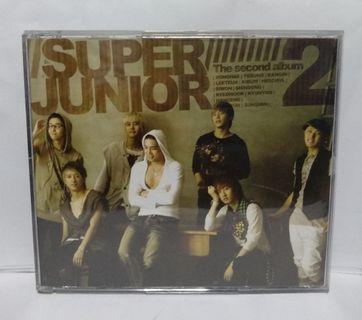 Super Junior 2nd Album Don't Don CD+DVD (Korean Edition)