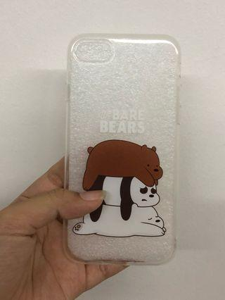 iPhone 7/8 We Bare Bears Clear Phone Case #AmplifyJuly35