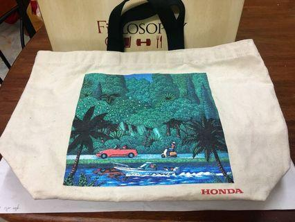 Honda canvas bag