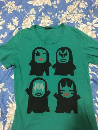 SISLEY短袖T恤