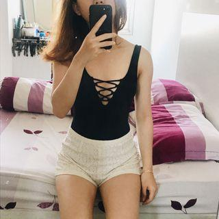 H&M body suits with lace