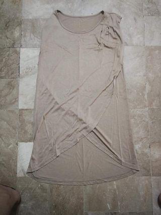 Nude Dress/ long top