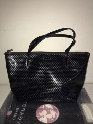 Kate Spade Jeralyn Beale Street Patent Glossy Tote Bag