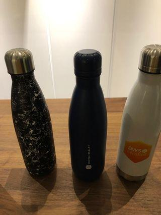 Insulated flask x 3