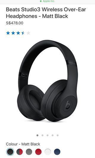 🚚 BNIP Beats Studio3 Wireless