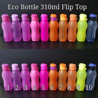Tupperware Eco Bottle 310ml Flip Top Retail Price $9.20 /pc