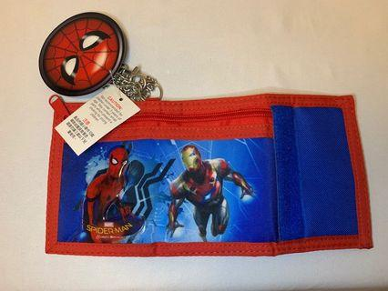 Spider-Man Ironman 銀包