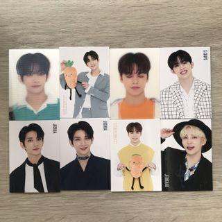 wts/wtt seventeen happy ending trading cards