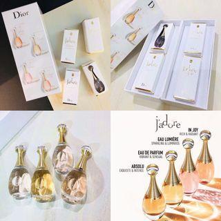 Dior J'adore真我迷你香水套裝 (5ml*4件)